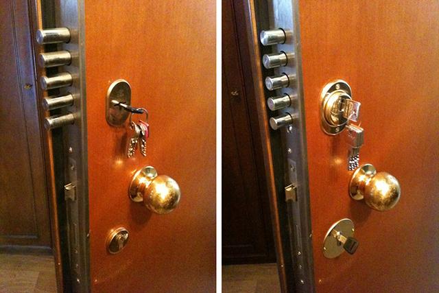 Come sostituire serratura porta blindata - Cambiare serratura porta ...